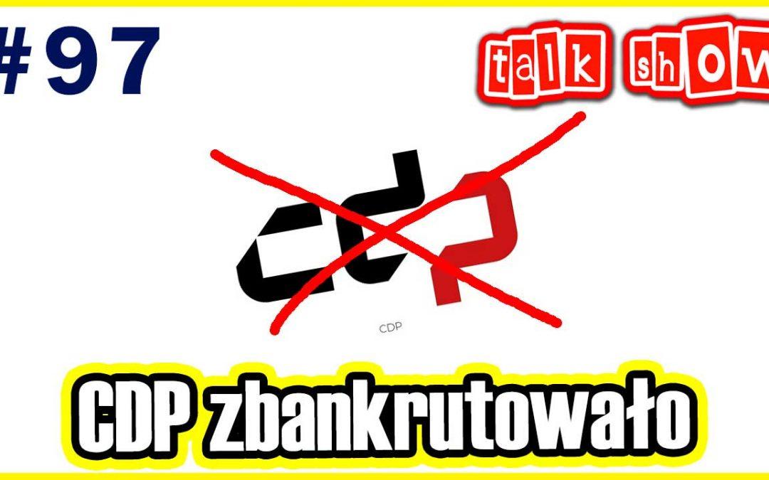 CDP zbankrutowało. Co z Cyberpunkiem 2077? – Talk Show #97
